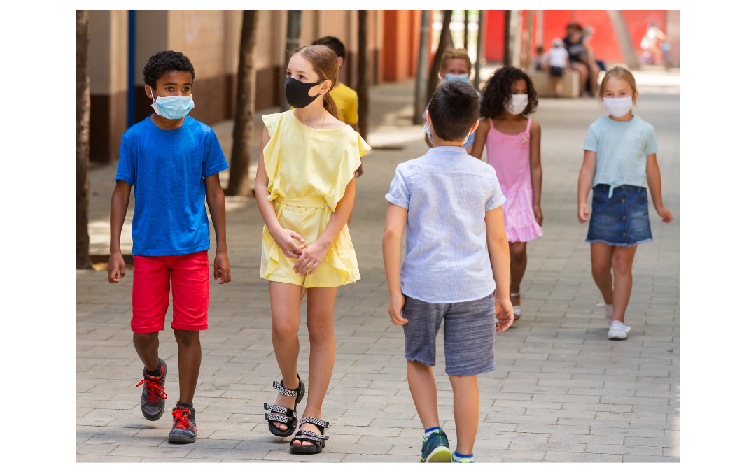 breathing and wearing a mask